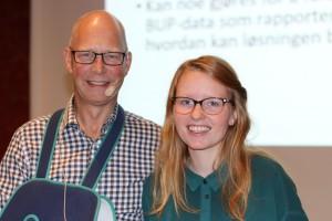 Tom Christensen og Line Hammeren